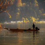 Lärjungarna fiskar i Genesarets sjö